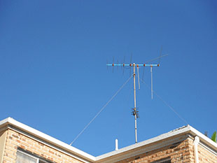 Damaged TV Antennas
