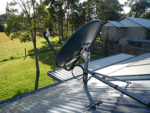 Vast Satellite Dish Sunshine Coast